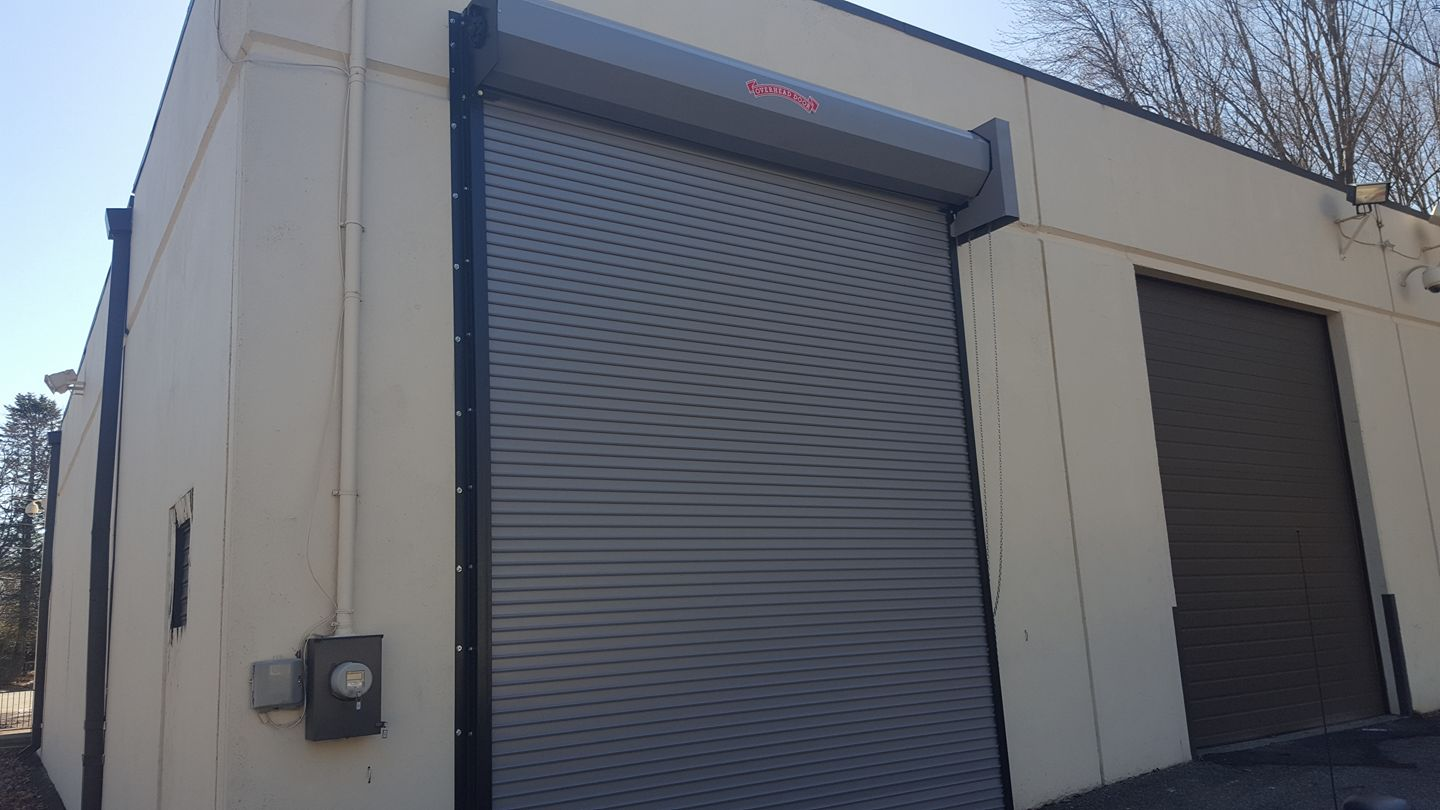 620 series overhead door, rolling steel