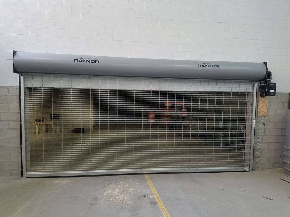 Commercial Overhead Door Fence