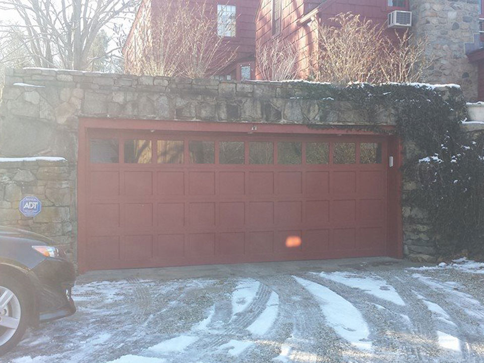 Plywood Garage Doors