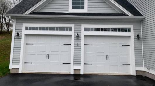 2 Resisdential Garage Doors